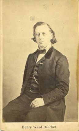 Henry Ward Beecher CDV. Henry Ward Beecher