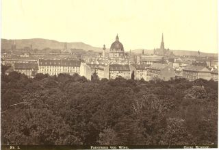 Original Photograph of 19th Century Paris. 19th Century Paris