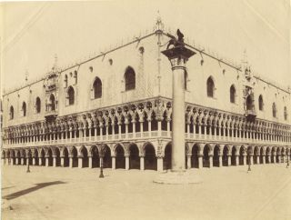 Three 19th Century Venice Photographs. 19th Century Venice
