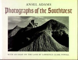 "Ansel Adam's Signed Coffee table Book ""Photographs of the Southwest"" Ansel Adams"