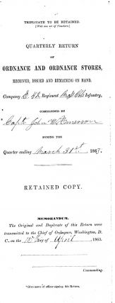 "1863 Camp Farr, Bayou Gentilly, ""Sword Bayonets, Musket "" Document. Bayonets Civil War Document,..."