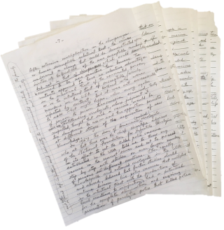 Albert Sabin Handwritten 16 Page Manuscript Discussing the First Mass Modern Inoculation and the...