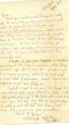 F. Scott Fitzgerald Autograph Letter Signed about his alcoholism, his writing, and Zelda, and...