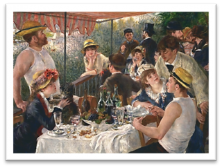 Renoir Writes to the Real Life Subject of one of his most Famous Paintings