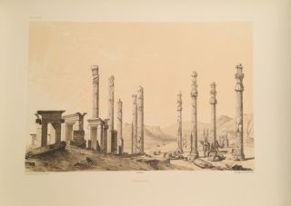 Voyage in Persia, 100 Lithos by Flandin