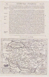 """Persicum Regnum"" Map of Persia, labeling the Gulf as ""Sinus Arabicus"" 1625. Jocodus Hondius"