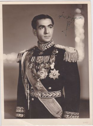 Shah of Iran Mohammed Reza Pahlavi Rare Vintage Signed Photo Inscribed to His Sister Princess...