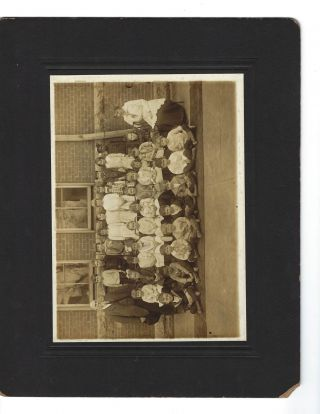 Early Ohio Multiracial Integrated Class Photo 1914. AFRICAN AMERICAN, EDUCATION