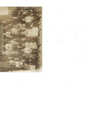 Early turn of the century Multiracial Integrated Class Photo. AFRICAN AMERICAN, EDUCATION