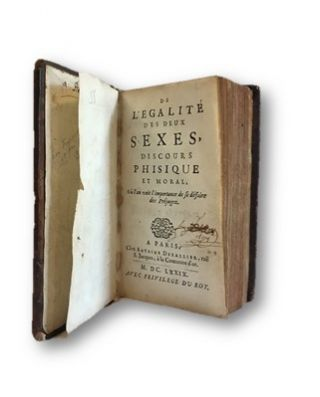 """De L'Egalite des Deux Sexes,"" 1697 AKA ""Woman as Good as the Man"" An Early and Important..."