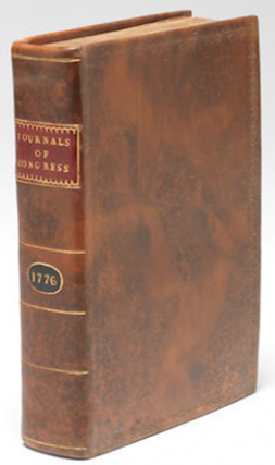 Journals of Congress, Containing the Proceedings in the Year 1776 The Declaration of Independence