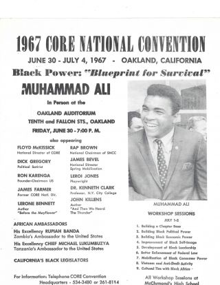 Muhammad Ali's activism for Racial Equality in the civil rights movement. Muhammad Ali