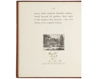Alcott Signed his Birthday Tribute Biography of Emerson. Ralph Waldo Emerson