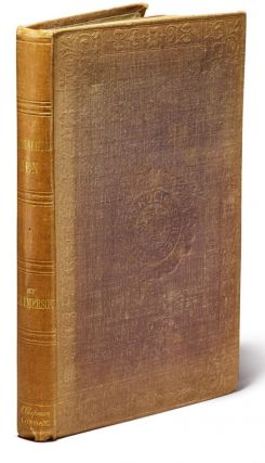 Emerson's Representative Men, Rare Presentation Copy of Earl and Ava Lovelace, the Earliest...