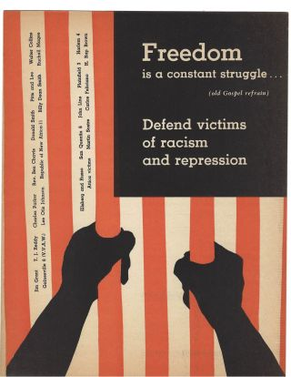 Radical Booklet Demands Angela Davis and All Political Prisoners be Released from Jail. Black...