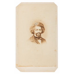 Rare Original CDV Photograph of Frederick Douglass. Frederick Douglass