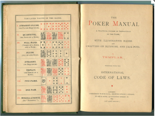 19th Century Illustrated Poker Manual- First edition