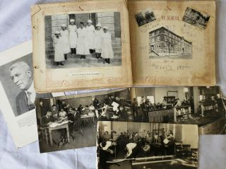 "Rare Graduate's Photo and Memory Album of Historically Black Institution ""Lane College""..."