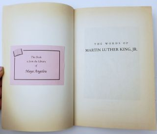 Archive of Maya Angelou's Personal Library Books, Her Honorary PhD Degrees and Unicef Work Album
