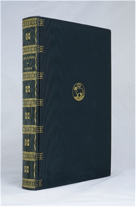 Virginia Woolf's Epic Gender-Bending Novel Orlando True First Edition, Signed. Virginia Woolf