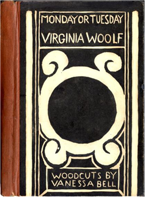 First Edition Monday or Tuesday. Virginia Woolf