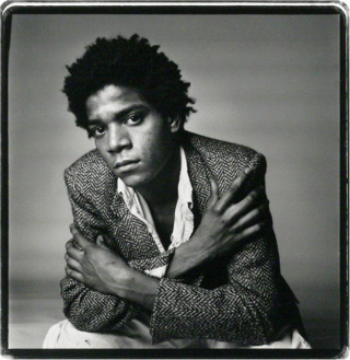 Rare, Signed Photograph of Basquiat. Jean-Michele Basquiat