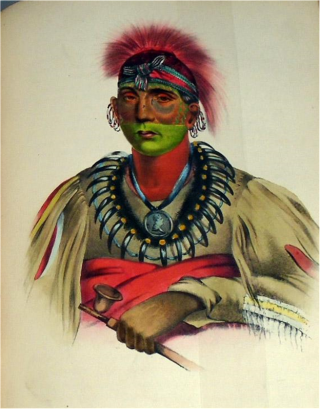 Finely Illustrated History of the Indian Tribes of North America, with Biographical Sketches....