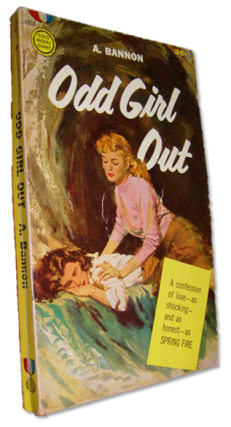 "Odd Girl Out, 1957 First edition of the ""Beebo Brinker"" Chronicles. Ann Bannon"