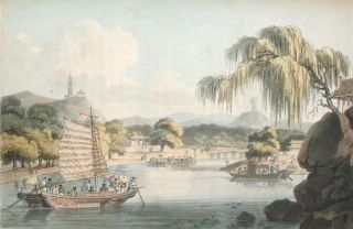 Travels in China… First Edition 1804 with Hand-Colored Plates. John Barrow
