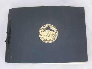 Scrapbook Album with Over 200 Photographs from Outstanding Student at Oberlin College, 1933-1937....