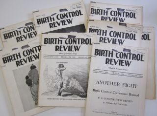 "Complete Run of Margaret Sanger's ""Birth Control Review"" Magazine from 1924. Margaret Sanger"