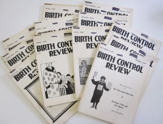 "Complete 12-issue Run of Margaret Sanger's ""Birth Control Review"" from 1925. Margaret Sanger"