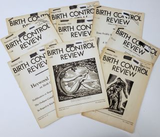 "9 issues of Margaret Sanger's ""Birth Control Review"" from 1930. Margaret Sanger"