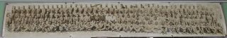 African American W.W.II Military Ordinance Ammunition Co Panoramic Photo 47 Inch Long. WW2...